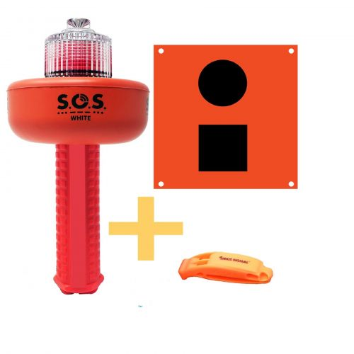 C-1003 SOS Distress Light, Flag and whistle